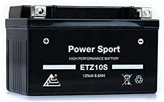 ExpertPower ETZ10S 12V8.6AH Replacement Battery for Yuasa YTZ10S Honda CBR600RR 03-04,05-06