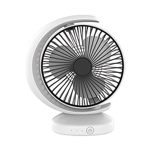 Cfiret Ventilador portatil USB Recargable Circulación De Aire del Ventilador, Oficina De Escritorio Mini Ventilador De Escritorio, De Escritorio De Ventilador del Radiador