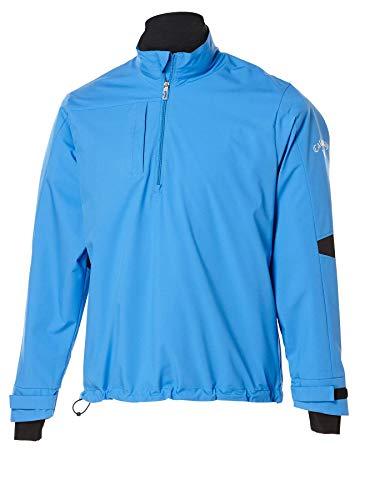 Callaway–Maglietta a Manica Corta 1/4-zip Vento Camicia, Uomo, Palace Blue