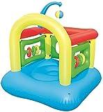 Piscinas hinchables Piscinas inflables Bouncy Castle Trampoline, camada de salto llena de diversión Pequeños juguetes inflables para niños Parque de atracciones Cama de rebote ( Size : 142*142*165cm )