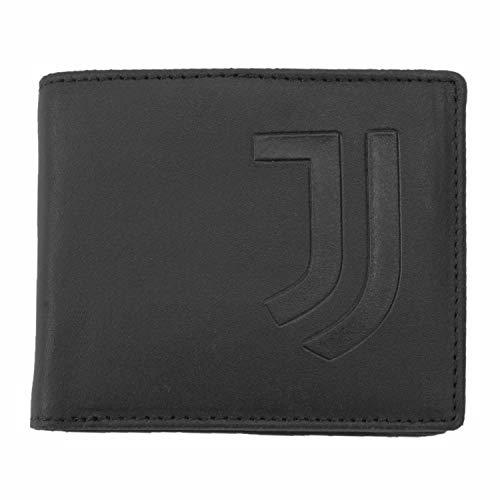 JUVIR|#JUVENTUS FC Portafoglio Pelle Slim Portafoglio Pelle Slim, Nessun genere, nero, S (Abbigliamento)