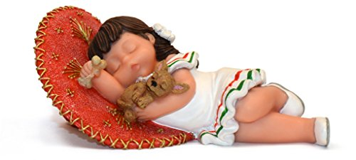 Nadal Figura Decorativa cansados de Jugar, Resina, Multicolor, 8.00x12.00x5.50 cm