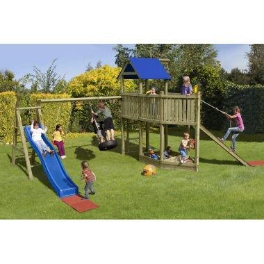 Spielanlage / Spielturm / Kinder Schaukel White Horse Multi-Play