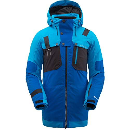 SPYDER TORDRILLO Gore-Tex Primaloft Ski - Chaqueta para hombre, color azul