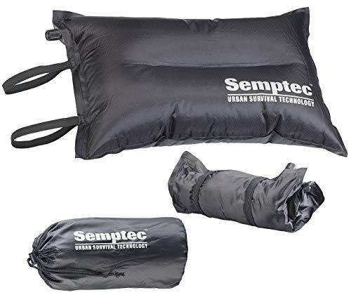 Semptec Urban Survival Technology Luft Sitzkissen Outdoor: Selbstaufblasendes Camping-Kopf- und Sitz-Kissen (Selbstaufblasbare Kissen)