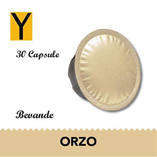 Yespresso Capsule Compatibili Lavazza a Modo Mio Orzo - Confezione da 30 Pezzi