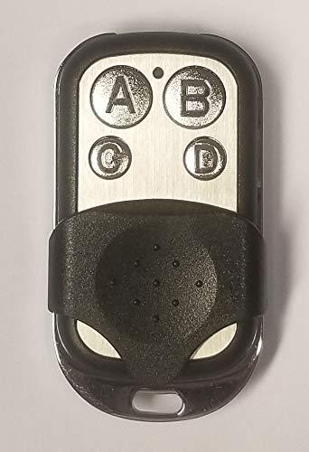 Handsender kompatibel mit Tedsen SKX1MD, SKX2MD, SKX3MD, SKX4MD, SKX1LC, SKX2LC, SKX3LC, SKX4LC, SKJ, SKX1WD, SKX2WD, SKX3WD, SKX4WD 433,92 MHz - Fernbedienung