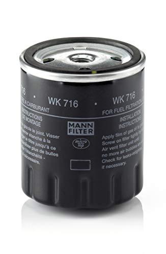 MANN-FILTER WK 716 Filtro de Combustible, para vehículos de utilidad