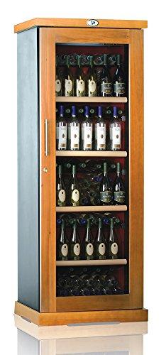 Ip Industrie - Cantina climatizzata legno massello e porta in vetro per capienza di 138 bottiglie temperatura regolabile
