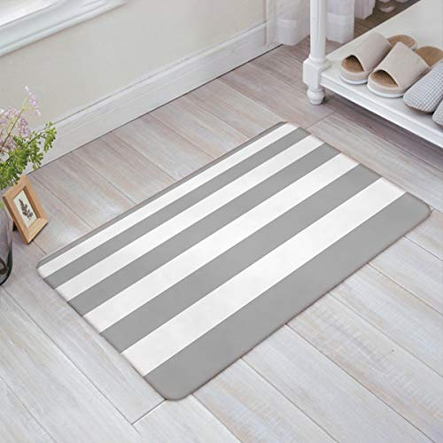 Mibao Door mat 20 x 32 inch Rubber Backing Non Slip Low-Profile Super Absorbent Door Mat Cotton Shoe Scraper Dirt Trapper Pet Mat for Front Door