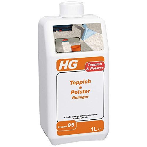 HG Teppich- & Polsterreiniger 1L – ist ein Teppichreiniger, der den Schmutz schnell und wirksam entfernt