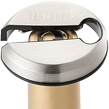 Vintorio Wine Foil Cutter - Cut Through Tough Wine Foils with Ease - Metal Plated Body Sharp Blades