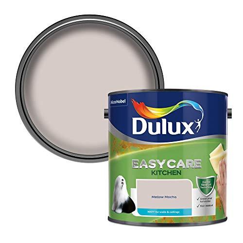 Dulux Easycare Kitchen Matt 2,5 l - Fassadenfarben (Farbe, Fertig gemischt, Wand, Warm neutral, Matte Oberfläche, 2,5 l)