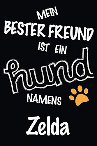 Mein Bester Freund Ist Ein Hund Namens Zelda: Bestes und tolles Geschenk für Hundeliebhaber   Lustiges Hundeliebhaber-Geschenk-gefüttertes ... einen niedlichen Hund namens Zelda besitzt