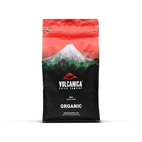 Ethiopian Coffee, Yirgacheffe Region, Organic, Whole Bean, Fresh Roasted 16-ounce