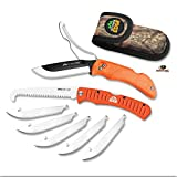 Outdoor Edge RazorPro - Double Blade Folding Hunting Knife with 3.5'...
