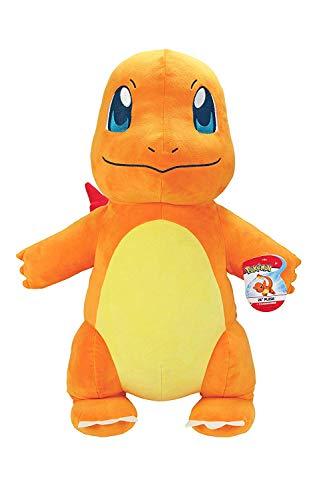 SJGDBN-zdnjhzkLively Moments Pokemon Plüschtier XXL/Kuscheltier/Pokemonfigur ca. 60 cm großes Glumanda/Charmander
