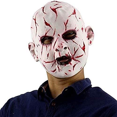 Vbtsqp Suministros para Fiestas Festival Mascarada de Halloween Mscara de Halloween Mscara de ltex Disfraz de Halloween Bar Sombrero Mscara de ltex Suministros para Fiestas