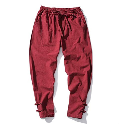 SoonerQuicker joggingbroek heren chino dunne stof rechte been broek losse fit stretch outdoor jeans heren oversized breed been broek baggy trainingsbroek elastische sportbroek trekkoord