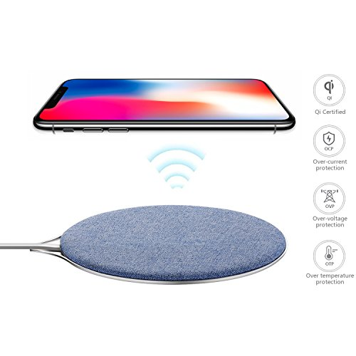 Engilen Wireless Charger, Wireless Charger for iPhone, Wireless Charging Pad for Samsung Galaxy,iPhone, HTC,LG,Sony