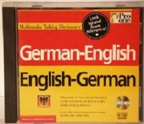 German-English English-German Multimedia TAlking Diction ary Pro One