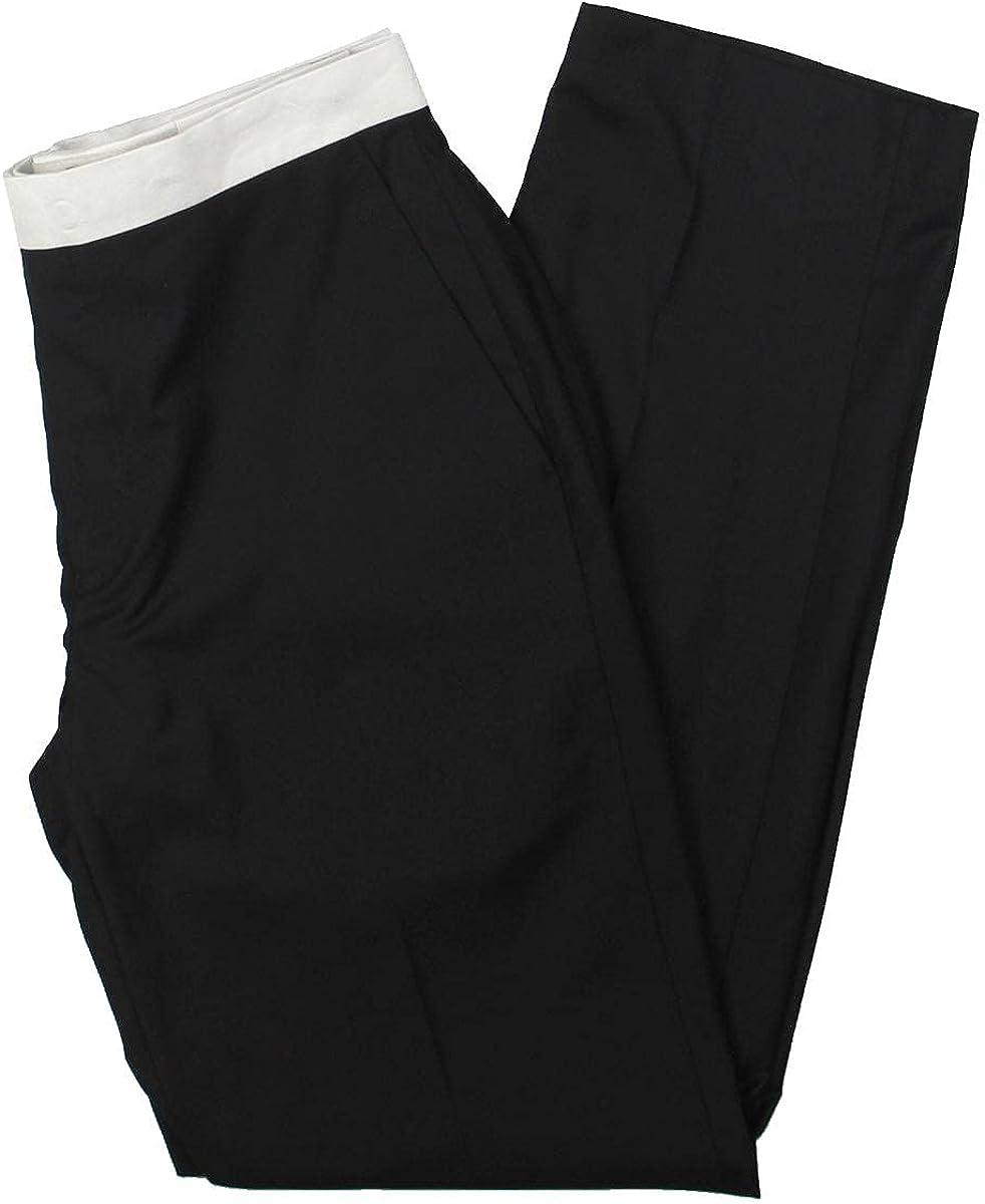 Sean John Mens Stretch Suit Separate Tuxedo Pant Black 32/32