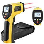 Dual Infrared Thermometer Non-Contact Digital IR Laser Thermometer SIMOEFFI Touchless Temperature Gun -58?~1202?(-50?~650?) for Kitchen Cooking BBQ Automotive Daily Use and Industrial (NOT for Human)