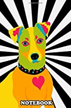 Notebook: Jack Russell Pop Art , Journal for Writing, College Ruled Size 6