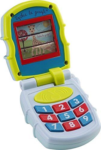 Vulli - Fresh Touch - Sophie la Girafe - Jouet téléphone - Coloris aléatoire