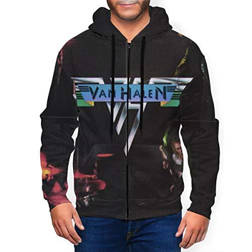 Van Halen Men's Hoodie, S to 3XL