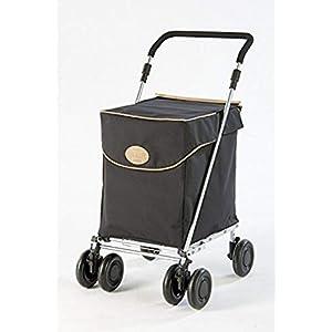 Carro de la Compra Plegable Westminster de Sholley, Carrito de la Compra Fuerte y Estable, Ayuda Para la Movilidad, 4 Ruedas 6 Tuedas, Shopping Trolley, ...