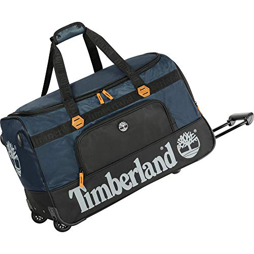 Timberland Wheeled Duffle Bag - Carry On Check In Lightweight Rolling Luggage Overnight Travel Bag...
