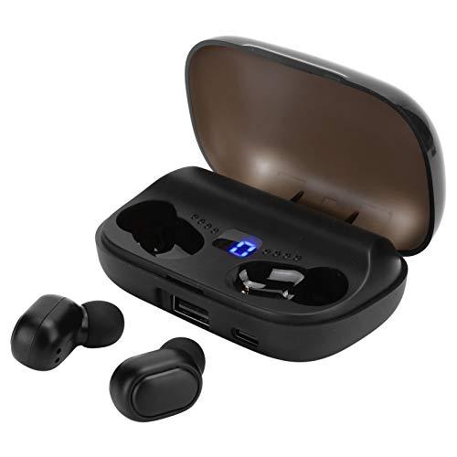 Auricolare Bluetooth 5.0 JS2 Sports, Auricolare per Esterni, Auricolare Wireless, Auricolare Impermeabile, Auricolare Bluetooth con Controllo tattile, per la casa all'aperto