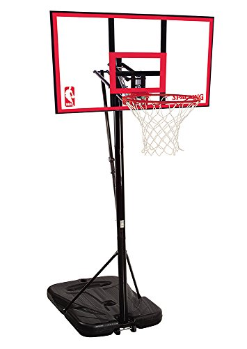 Spalding NBA Portable Basketball System - 44' Polycarbonate Backboard