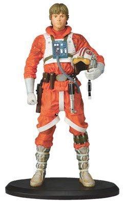 Star Wars LUKE SKYWALKER as X-WING PILOT STATUE by ATTAKUS image
