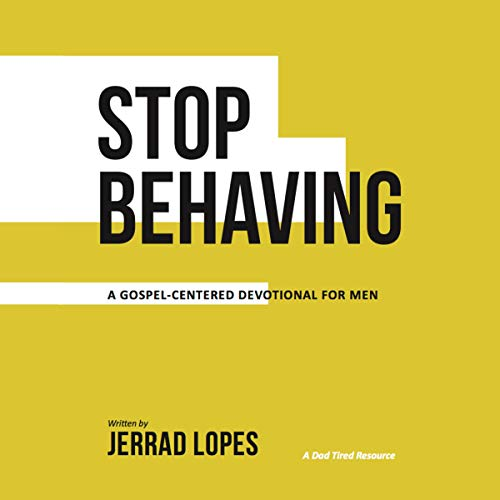 Stop Behaving audiobook cover art