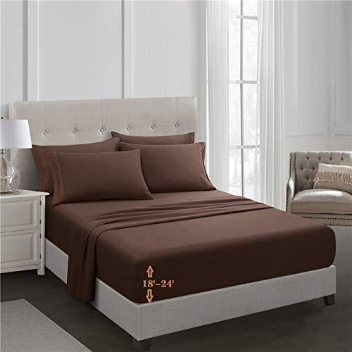 haiba Spannbetttuch PVC Bettschutz Spannbettlaken Inkontinenz Full:137x190cm+55cm