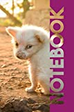 Notebook: Cute Baby Animals Helpful Composition Book for Researching Puppies for Sale Near Me
