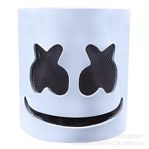 Halloween-Maske Helm Vollkopf Cosplay Kostüm Halloween Latex Marshmallow für Party Kostüm Spielen