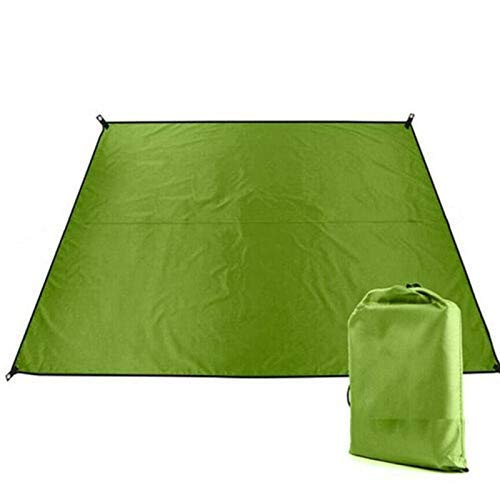 Multi Functional Tent Rainproof Awning Sunshade Canopy Beach Camping Picnic Mat Waterproof Nylon Mat Blanket