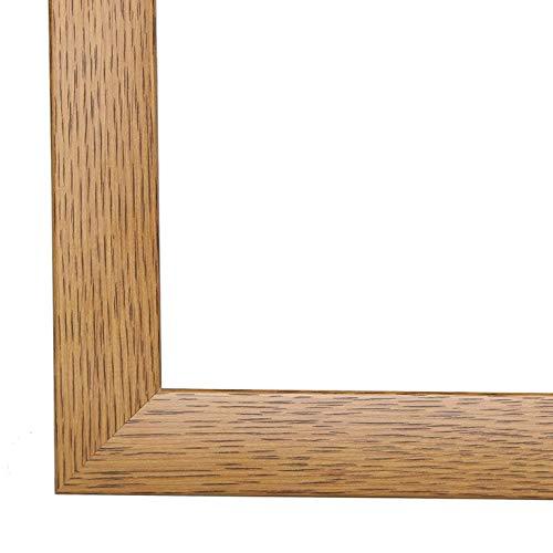 PN35 Bilderrahmen 62x133 cm in Eiche Rustikal mit entspiegelten Acrylglas