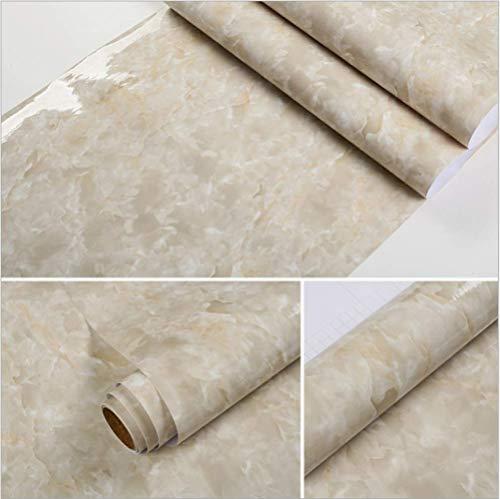 Marmor Papier Küche Ölofen Aufkleber Pvc Renovierte Badezimmerschränke Wasserdichte Selbstklebende Tapete Kleiderschrank Möbel 60x500cm