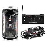 Heaviesk Mini Voiture télécommandée sans Fil Cola canettes de Vitesse de Course électrique modèle de Jouet à Quatre Voies pour Enfants