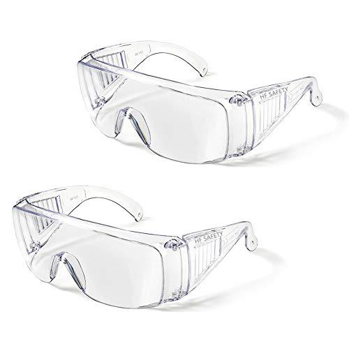 ゴーグル 細菌飛沫対策眼鏡 防花粉 保護メガネ 軽量 透明 オーバーグラス 防曇 曇り止め 保護用アイゴーグル 防塵ゴーグル 花粉症 飛沫カット 眼鏡着用可