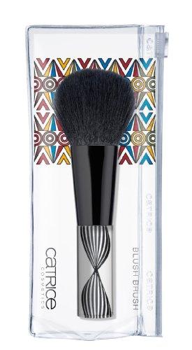Catrice Cosmetics Limited Edition LÁfrique, cést chic Blush Brush Pinsel 1 Stück Professioneller Rougepinsel mit besonders weichem Haar für das perfecte Auftragen von Puder oder Puderrouge.