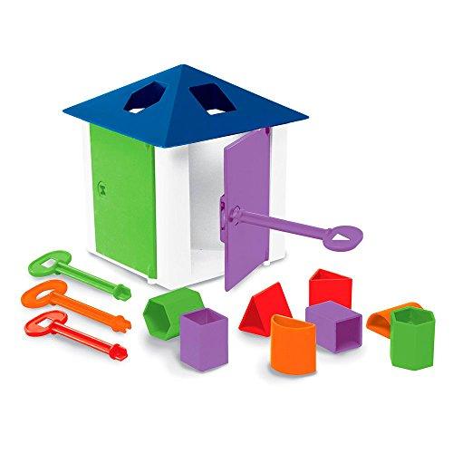 Brinquedos Estrela Casa das Chaves, Multicolorido