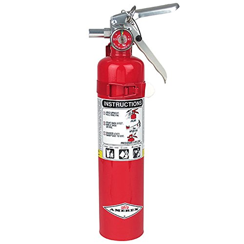 Amerex B417, 2.5lb ABC Dry Chemical Class A B C Fire Extinguisher