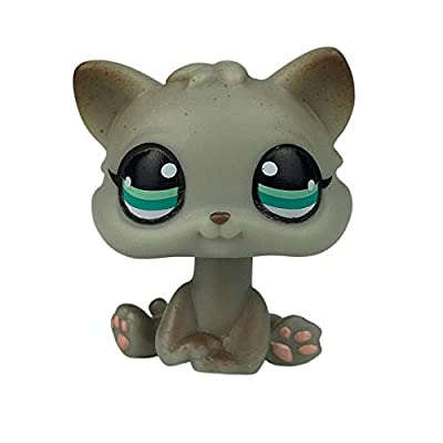 LPSCB Custom-Made Baby for Short Hair Cat #391 Gray Egyptian Kitty 1 Inch Mini Pet Shop Toys