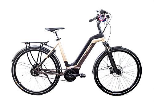 41h+7BdDcAL - 28 Zoll TechniBike City Pedelec E Bike Riemen N330 Nu Vinci Continental Gr.L