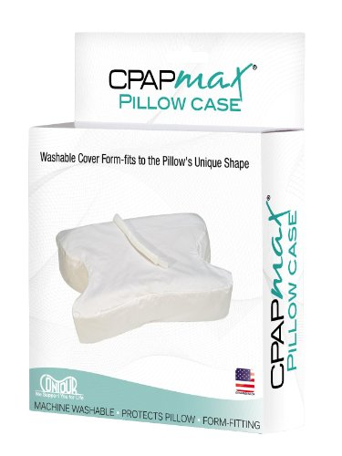 Contour CPAPMax Pillow Case, White